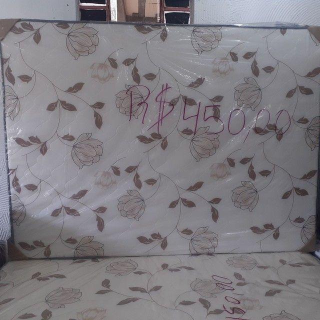 Cama casal R$ 285.00 com garantia ou cama solteiro R$ 185,90 - Foto 3