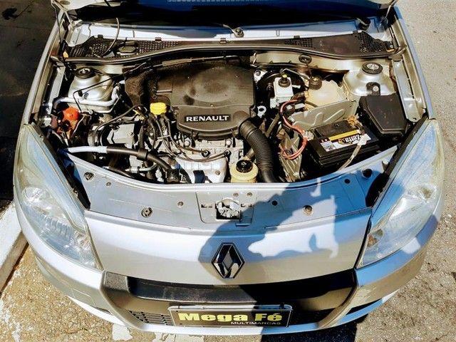 Renault Sandero Expression 1.6 Flex Prata Completo Doc Ok - Foto 4