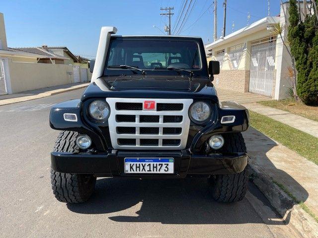 Troller 3.0 Turbo diesel 4x4 ano 2009 / Conservado original aceito trocas financio 60x - Foto 5