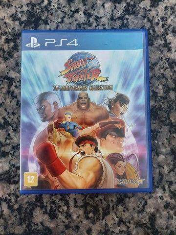 Jogo Street Fighter 30° Aniversário versão colecionador