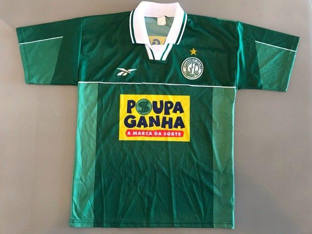 Camisa Futebol Guarani Campinas Antiga 1999 - Oficial Reebok