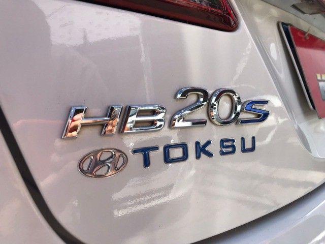Hyundai HB20S 1.6 Gnv Premium (Aut) 2016 - Foto 18