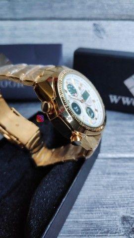 Dia dos namorados chegando! Relógio Novo Importado! Magnífico à pronta entrega! - Foto 3