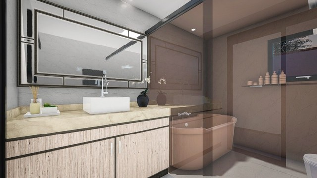 Casa térrea 4/4 com 4 suites  Condomínio Jardins Paris