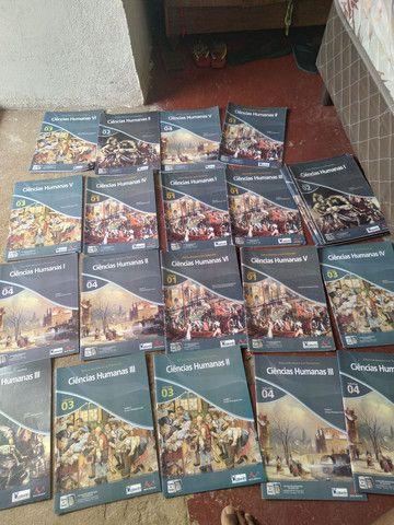 Livros pré vestibulares e outros completos