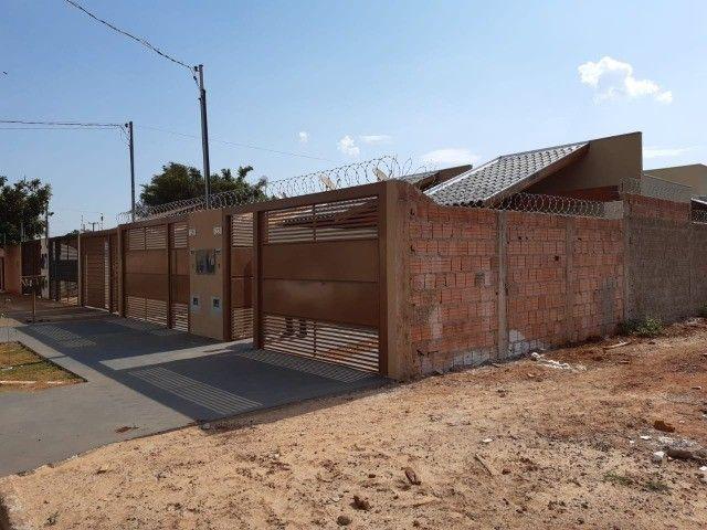 Linda Casa Nova Campo Grande com 3 Quartos No Asfalto - Foto 16