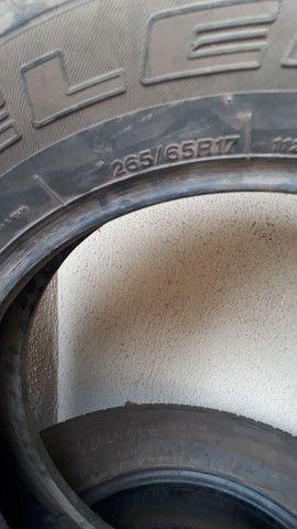Pneus Bridgestone 265 65 aro 17 para caminhonetes - Foto 2