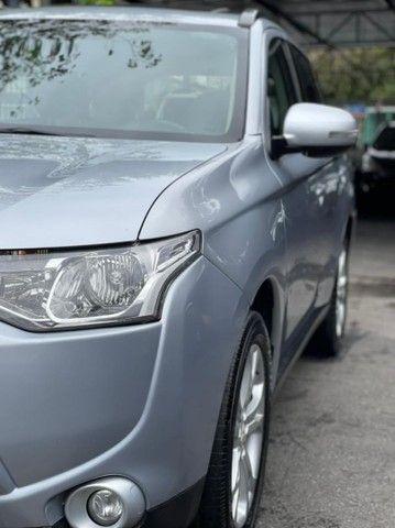 Outlander 2.0 2015 Automóvel Teto Solar Bancos em couro muito novo  - Foto 9