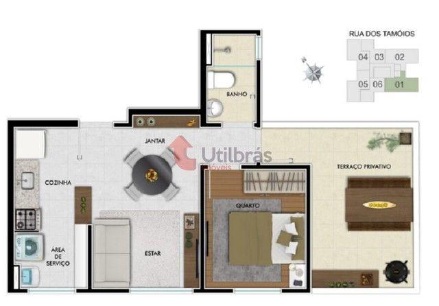 Apartamento à venda, 1 quarto, Centro - Belo Horizonte/MG - Foto 18