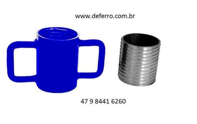 kit Incerto Rosca p Escora de Ferro Ajustavel