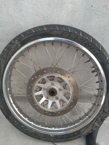Roda de titan 150