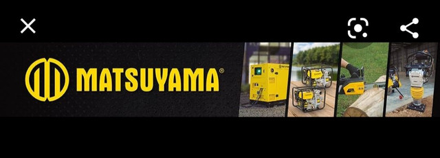 Cortador de Piso Matsuyama Gasolina 13 HP - Foto 2