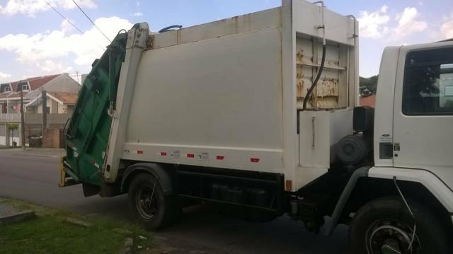 Caminhao Ford Cargo 1722 E Compactador De Lixo 15 Mt Caminhoes