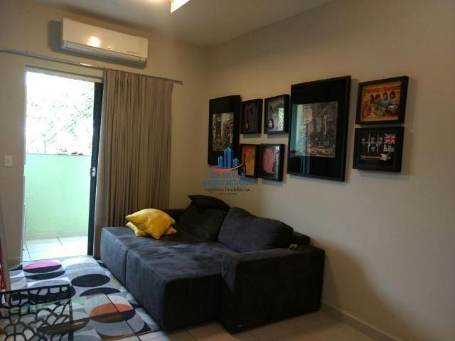 Alugamos apartamento 100% mobiliado no condomínio