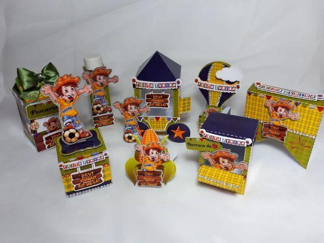 Caixas para festas infantis - apartir de 3,50