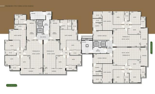 4 suites na Jatiuca Residencial Vivarine - Foto 15