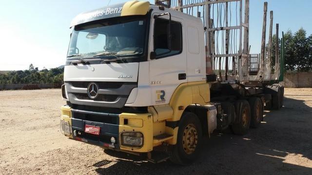 Caminhão Mercedes Benz Axor 3344 Ano 2013 Cabine Leito