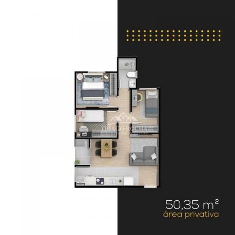 Apartamento térreo com 3 dormitórios à venda, 50 m² por r$ 209.900 - tingui - curitiba/pr - Foto 17