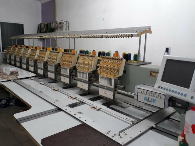 Marquina de bordado industrial - Foto 4