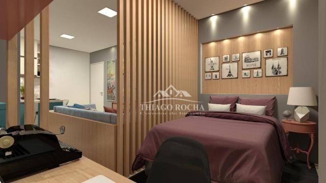 Studio com 1 dormitório à venda, 39 m² por r$ 189.000 - são pedro - são josé dos pinhais/p - Foto 8