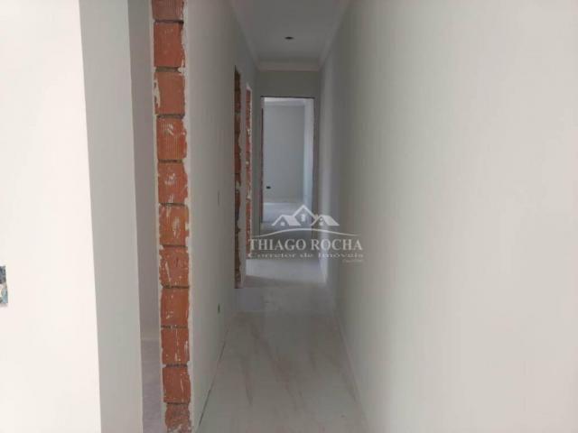 Apartamento 3 quartos, 1 suíte e sacada com churrasqueira- boneca do iguaçu - Foto 15