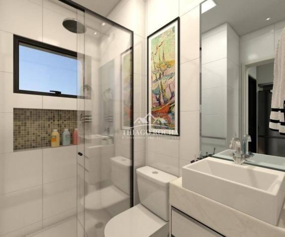 Studio com 1 dormitório à venda, 30 m² por r$ 140.900 - são pedro - são josé dos pinhais/p - Foto 8