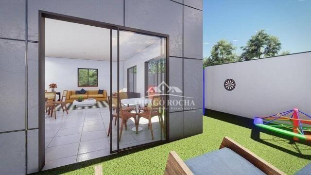 Cobertura duplex com 2 dormitórios à venda, 102 m² por r$ 440.000 - centro - são josé dos  - Foto 18