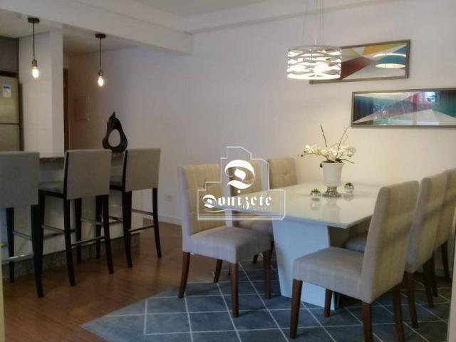 Apartamento à venda, 81 m² por r$ 515.000,00 - jardim - santo andré/sp - Foto 4