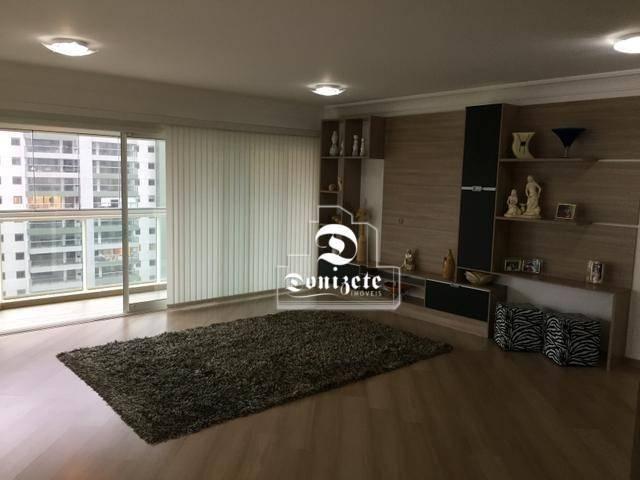 Apartamento com 4 dormitórios à venda, 165 m² por r$ 1.300.000 - bairro jardim - santo and - Foto 2