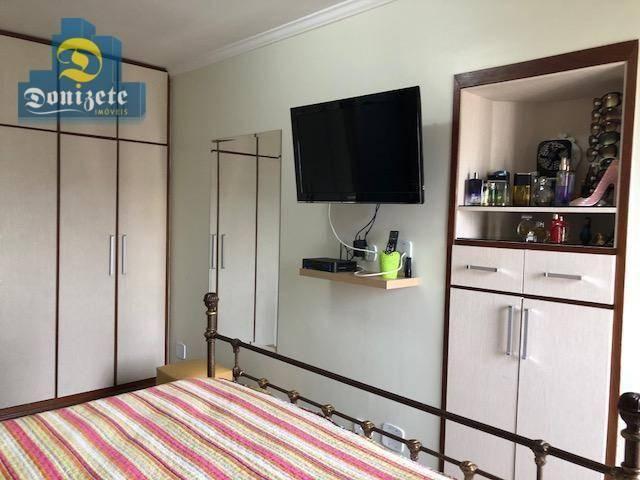 Apartamento com 3 dormitórios à venda, 150 m² por r$ 550.000,01 - vila bastos - santo andr - Foto 20