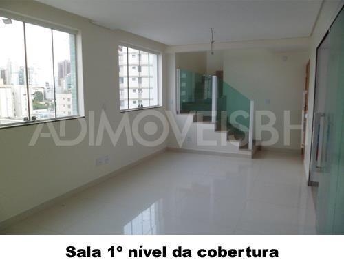 Cobertura à venda, 3 quartos, 4 vagas, gutierrez - belo horizonte/mg - Foto 3