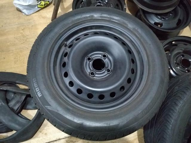 Jogo de roda com pneus 15 astra - Foto 3