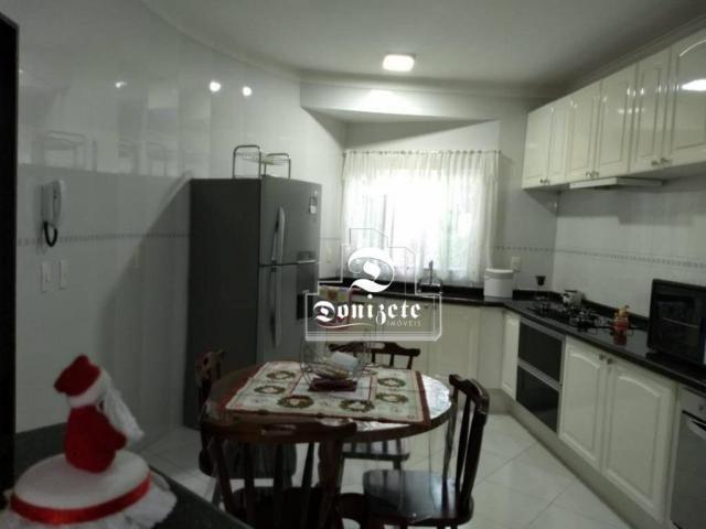 Sobrado com 4 dormitórios à venda, 427 m² por r$ 1.690.000,01 - campestre - santo andré/sp - Foto 4