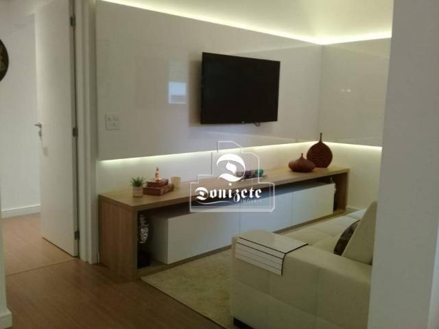 Apartamento à venda, 81 m² por r$ 515.000,00 - jardim - santo andré/sp - Foto 7