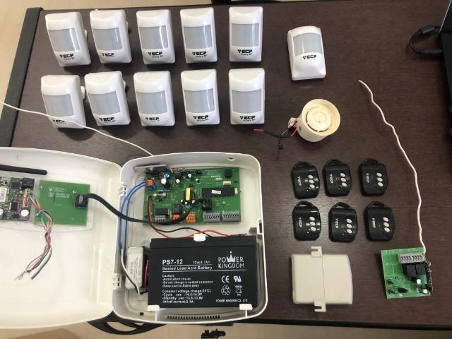 Kit Alarme Alard Max 10 (Completo)