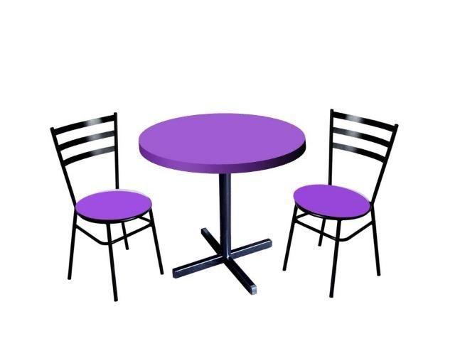 Mesas redondas e cadeiras para buffet,restaurante,lanchonete,barzinho e sorveteria