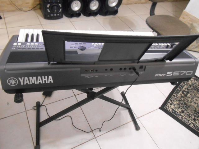 Teclado Yamaha PSR S670 - Foto 4