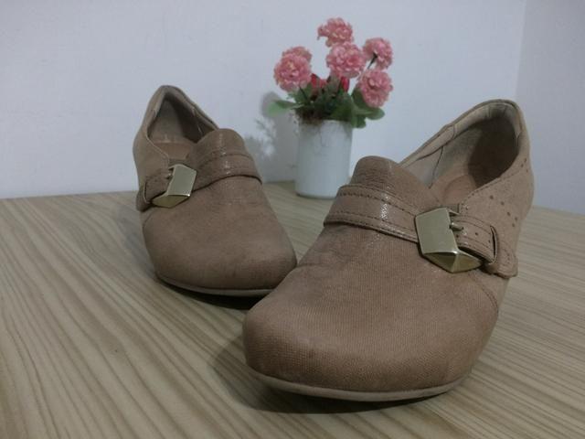 Sapato Confort Flex 37 Rosa antigo Rosê