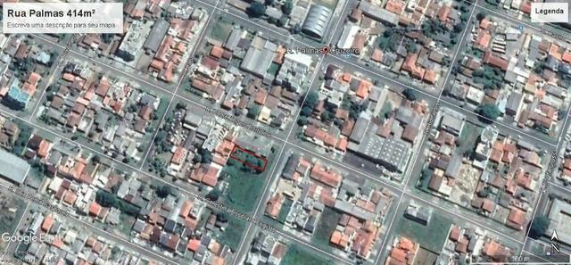 Terreno com 414 m² no Jardim Cruzeiro São José dos Pinhais-PR