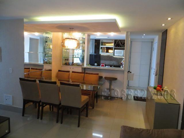 Aceita Troca, apartamento, 92m, 3/4, Lacqua, andar alto, sombra, 2 vagas, Neopolis - Foto 2