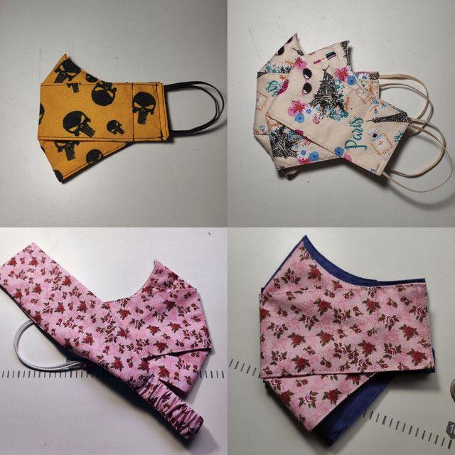 Mascara de tecido - Foto 3