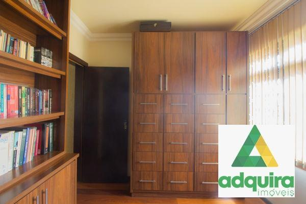 Casa sobrado com 4 quartos - Bairro Jardim Carvalho em Ponta Grossa - Foto 9