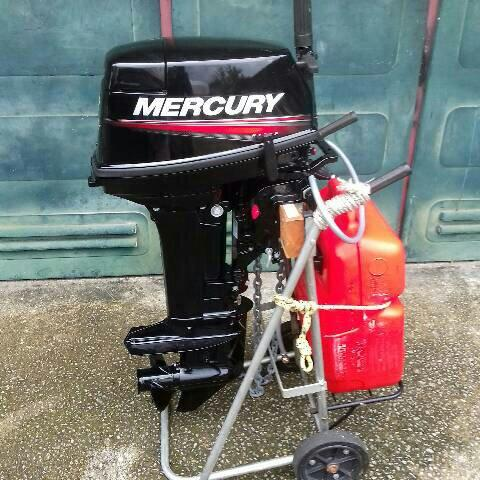 Motor Mercury Super 15 hp 2T zero