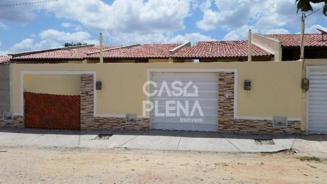 Casa com 2 dormitórios à venda, 71 m² por R$ 135.000 - CA0074 - Jabuti - Itaitinga/CE - Foto 2
