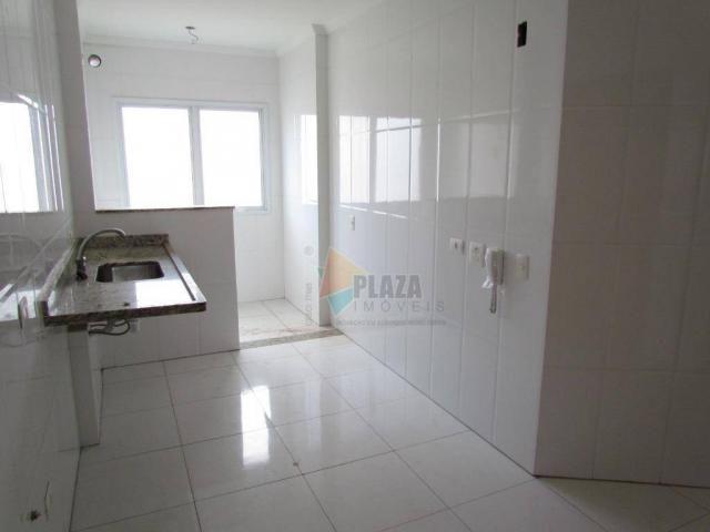 Apartamento para alugar, 100 m² por R$ 3.000,00/mês - Canto do Forte - Praia Grande/SP - Foto 7