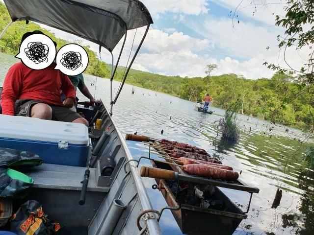 Barco com motor 25 - Foto 7