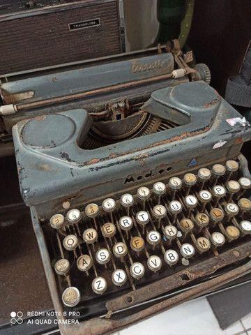 Máquina de escrever Everest Antiga antiguidade - Foto 2