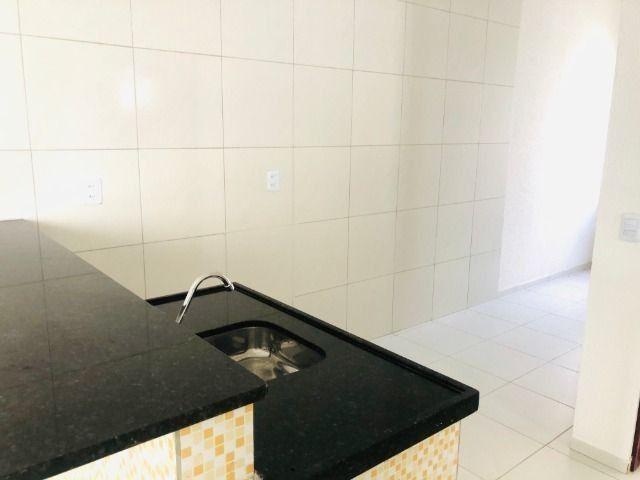 WS casa nova com 2 quartos,2 banheiros,varandao,coz.americana,quintal - Foto 8