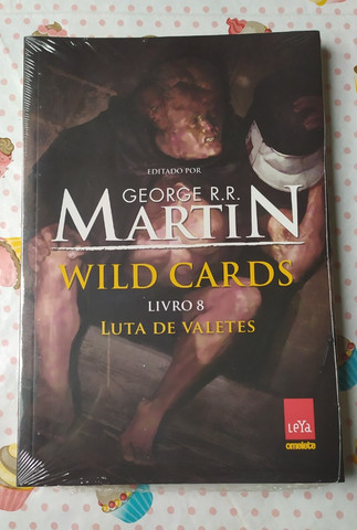Luta de Valetes - George R. R. Martin (Wild Cards Volume 8) - Foto 2