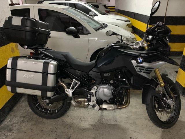 Moto BMW F850 Gs 3.500km Troca carro até $ 65.000 - Foto 4